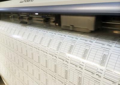 Etiquetas adhesivas en vinilo