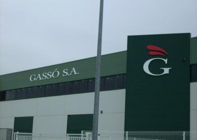 Letras corpóreas para centro de Tarragona