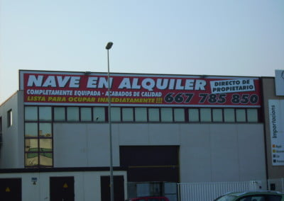 Pancartas Gran formtato sobre pvc frontlit para la venta