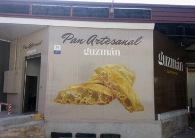 Pintura y decoración en Mercabarna El prat