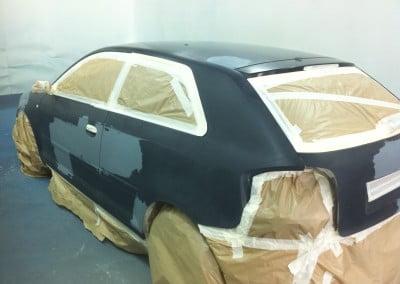 Plancha y pintura de Vehículos particulares