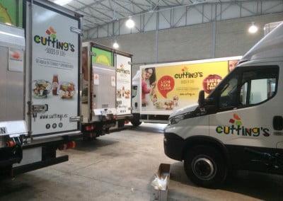 Rotulación en vinilos impresos para camiones