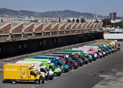 Rotulación flotas de vehículos