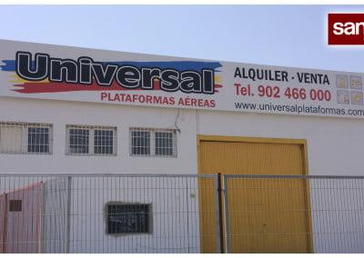 Valla publicitaria instalada en Sant Andreu de la Barca