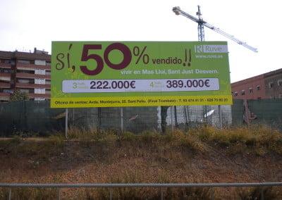 valla publicitaria modular barcelona